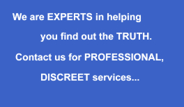 Professional and Discreet - private detective Essex